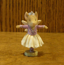 The Heart of Christmas Mini #6001385 SUGAR PLUM FAIRY MOUSE, Karen Hahn, Enesco