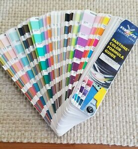 Pantone Formula Guide Coated & Uncoated (2nd Edition 2001, First Printing)