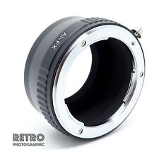 AI-FX Nikon AI AIS F Mount Lens to Fuji FX X-Mount Adapter Ring - UK Stock