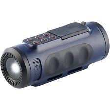 LED Scheinwerfer: 4in1-Outdoor-Genie: Radio, MP3, Taschenlampe, Lautsprecher