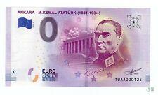 0 Euro Souvenirschein 2019-1 Atatürk - limitierte Auflage 5000 Stück
