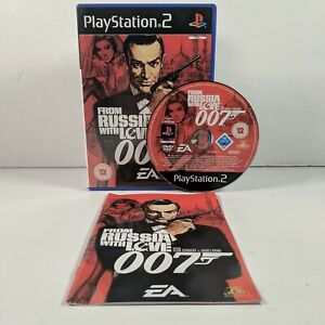 From Russia With Love 007 - PlayStation 2 (PS2) - PAL - Complete - Free P&P