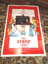 The First Time (1983) Original Movie Poster (Lot 3) Comedy Film