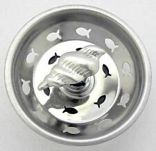 Sea Shell Kitchen Sink Strainer Stainless Steel Ss52