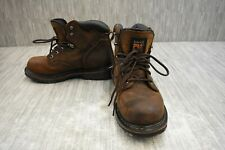 "Timberland PRO Pit Boss 6"" Soft Toe 33046 Boot, Men's Size 9W, Brown"