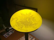 Art Nouveau Lamp Handel Characteristics Dragon Motif Extraordinary Color Antique