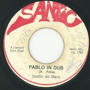 """"""" PABLO IN DUB. """" augustus pablo. SANTIC 7in 1973."""