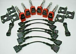 Audi 2.7T Coil Conversion Harness ICM By Pass Kit Coilpack Plates S4 RS4 B5 2.7T