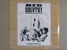 "Big Country - Fields Of Fire (12"" Vinyl Single; 3 Tracks)"
