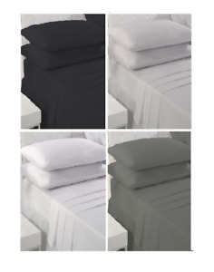 Sleepscene 180 Thread 100% Cotton Pillowcase Pair, Available in 4 Colours