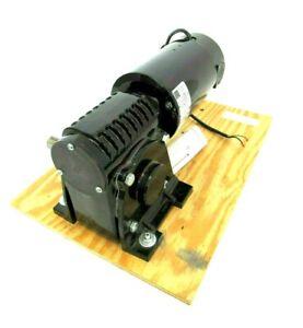 NEW BODINE ELECTRIC 42A7BEPM-5H GEAR MOTOR 130VDC 1/3HP 36:1 42A7BEPM5H