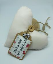 3rd Leather Wedding Anniversary Heart Keepsake, Homemade Gift, Keepsake