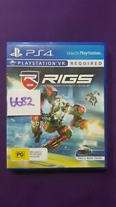 Rigs Mechanized Combat League VR Playstation 4 PS4 game. Brand New PAL