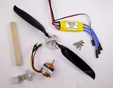 PGK950:1 set BL Motor(KV1030),9x 5 Folding Prop.& 30A BL ESC Kit for RC Glider