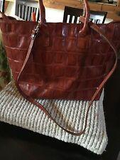 Wunderschöne Tasche Von Luca Lorenzo ,sehr  Edel .Rot.