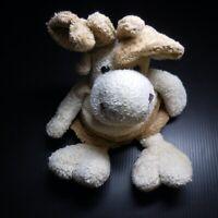 Peluche doudou rêne BUKOWSKI SWEDEN jouet enfant vintage collection N6156