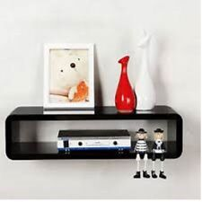 HiFi lounge Shelf Wall Halter Apple TV CD DVD Media Shelf Concealed Furniture
