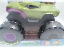 Incredible Hulk (2020) Hot Wheels Monster Truck 1:24 Scale Green Die-cast Metal