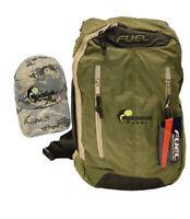 Pickleball Camo Style Bundle - Camo Pattern Ball Cap & Army Green Crossbody Bag