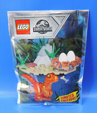 LEGO® Jurassic World Limited Edition 121801 / Baby Raptor + Dino Nest  / Polybag