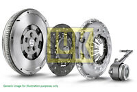 Dual Mass Flywheel DMF Kit with Clutch fits FORD TRANSIT 2.4D 04 to 14 LuK New