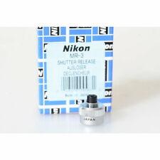 Nikon Auslöseknopf MR-3 / Drahtauslöseknopf / Shutter Knob für MD-4 / F4 / F801