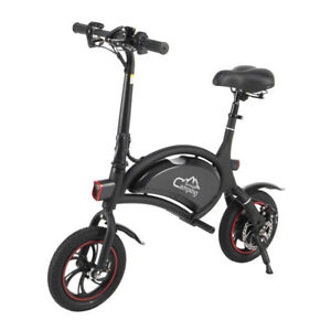 Folding Electric Bike, with 250W Motor and 6 Ah Lithium Battery XH