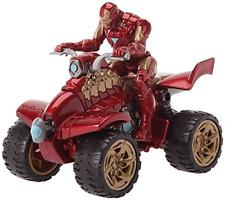 Marvel Iron Man & HyperSpeed Quad Action Figure & Iron Racer New Sealed