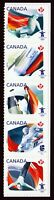 OLYMPIC = strip of 5 from booklet Canada 2009 #2300-2304 MNH