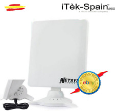 Antena adaptador usb Wifi 9000WN 6800mW NETSYS PANEL 98dBi