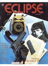 "ECLIPSE MAGAZINE #6 (7/82)--VG++ / ""Ms Tree""; Pekar, Rogers, Gulacy, Sutton^"