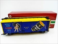 LGB 40916 Morton Salt Steel Boxcar When it Rains...Spur G (45mm) 1:22,5 DC