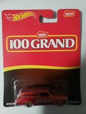 Hot Wheels 64 CHEVY NOVA DELIVERY 100 Grand 2016 Pop Culture NESTLE REAL RIDERS