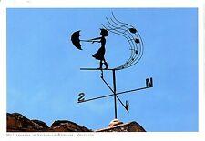 Alte Postkarte - Wetterfahne in Vaison-la-Romaine, Vaucluse