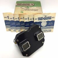 Vtg Sawyer's View-Master Stereoscope w/ original box and set of 7 reels