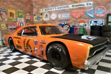 CUSTOM BUILT 1:25 SCALE 1970 PLYMOUTH SHORT TRACK STOCK CAR with 440 C.I. V8.