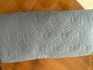 PRATESI KING QUILTED COVERLET GREY