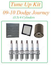Tune Up For 09-10 Dodge Journey 3.5 V6: Spark Plug Air Filter Cabin Oil Filters