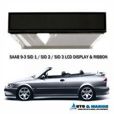SAAB 9-3 93 LCD DISPLAY SCREEN SID 1 SID 2 SID 3 Saab Information Display  .NEW.