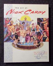 2001 The Art Of Nick Cardy by John Coates Sc Vf 8.0 2nd Vanguard 176pgs