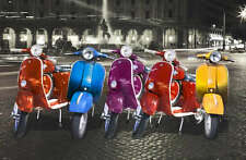 RETRO VESPA ADVERTISING EXTRA LARGE CANVAS PRINT Poster vintage scooter