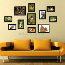11Pcs Multi Picture DIY Photo Frames Wall Set Family Display Modern Home   US S