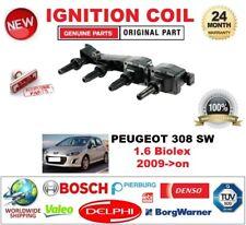 FOR PEUGEOT 308 SW 1.6 Biolex 2009->on IGNITION COIL inc SPARK PLUG CONNECTOR