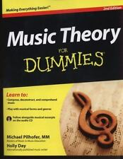 Music Theory For Dummies, with Audio CD (For Dummies-ExLibrary