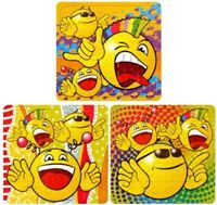 6 Smiley Jigsaw Puzzles - Pinata Toy Loot/Party Bag Fillers Wedding/Kids