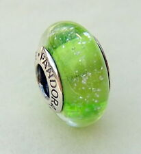 NEW Pandora Tinkerbell's Color, Green Disney Bead Charm, 791639 Glow in the Dark