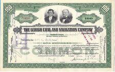 Action THE LEHIGH COAL & NAVEGACIÓN CY ESTADOS UNIDOS 1930 (P14163)