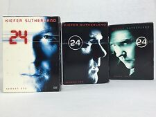 24 TV SHOW- Season 1, 2, 3,(Complete Seasons 1 through 3) Free Shipping