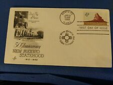 Scott #1191 4 Cent Stamp Honoring New Mexico Statehood First Day Issue