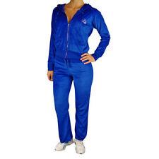 Abbigliamento sportivo da donna in cotone Blu Taglia 40